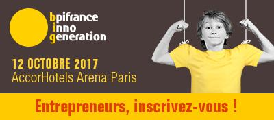 Bpifrance Inno Génération 3 : RDV le 12 octobre pour transformer l'économie !