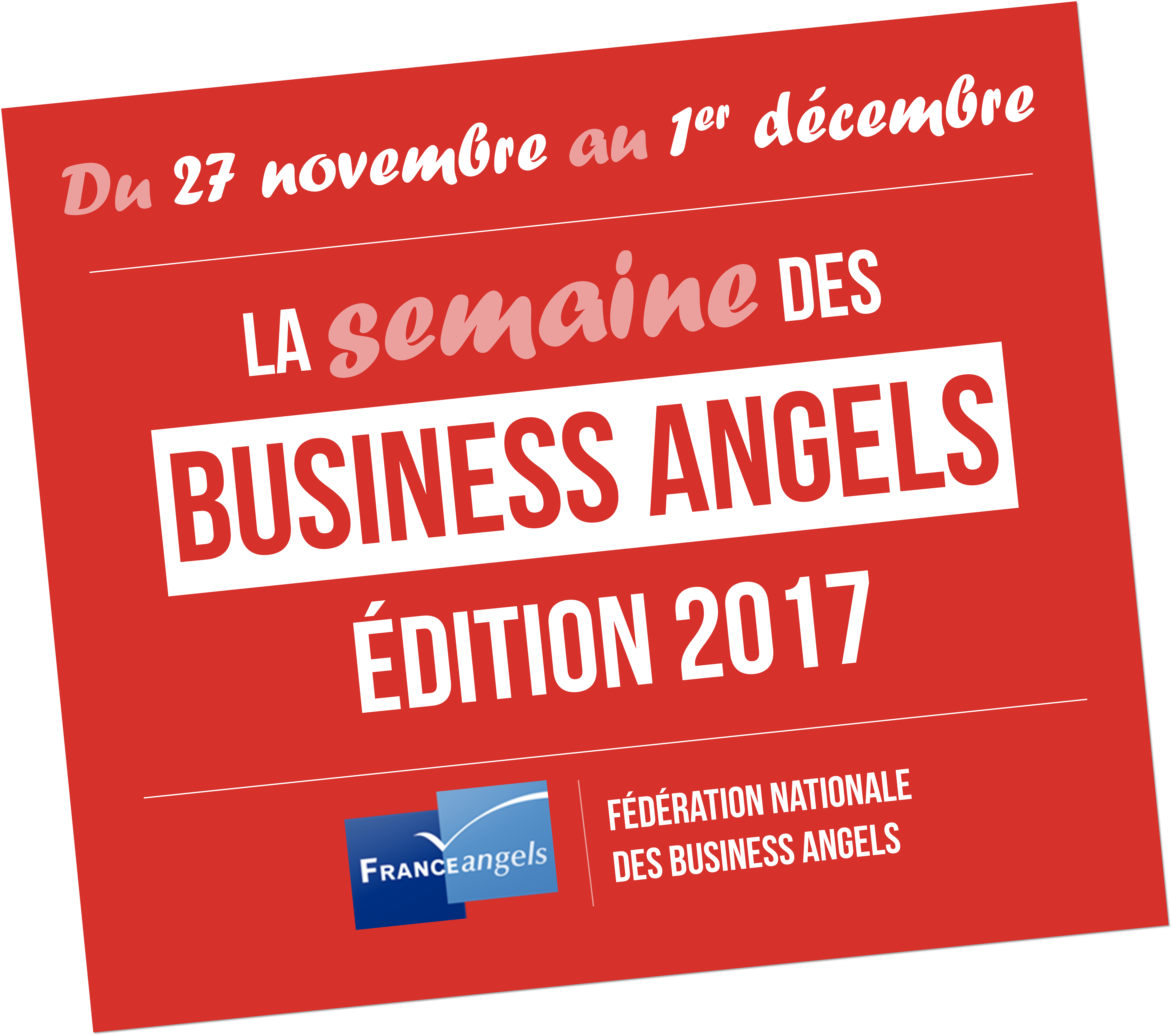 Semaine des Business Angels 2017