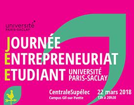 Journée Entrepreneuriat Etudiant, découvrez les futures jeunes pousses du territoire Paris-Saclay