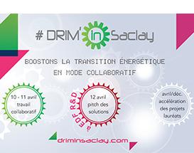 DRIM'in Saclay : Inscrivez-vous jusqu'au 29 mars !