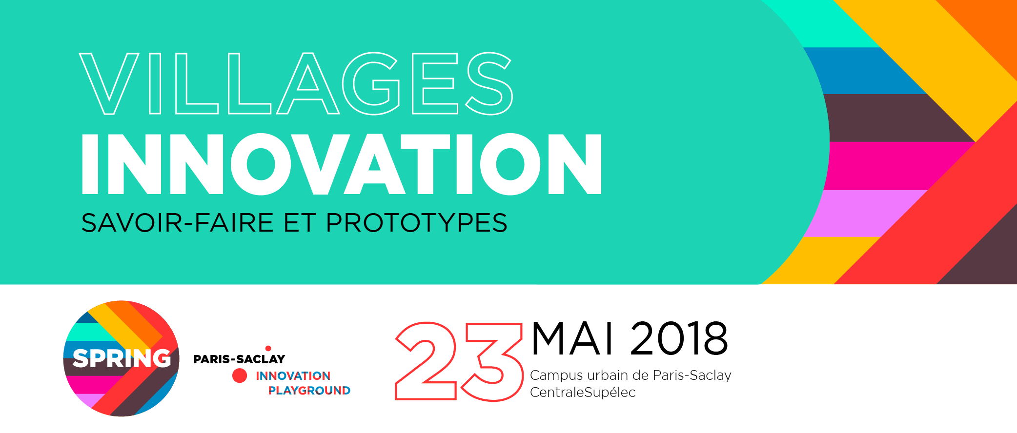 Villages Innovation PARIS-SACLAY SPRING